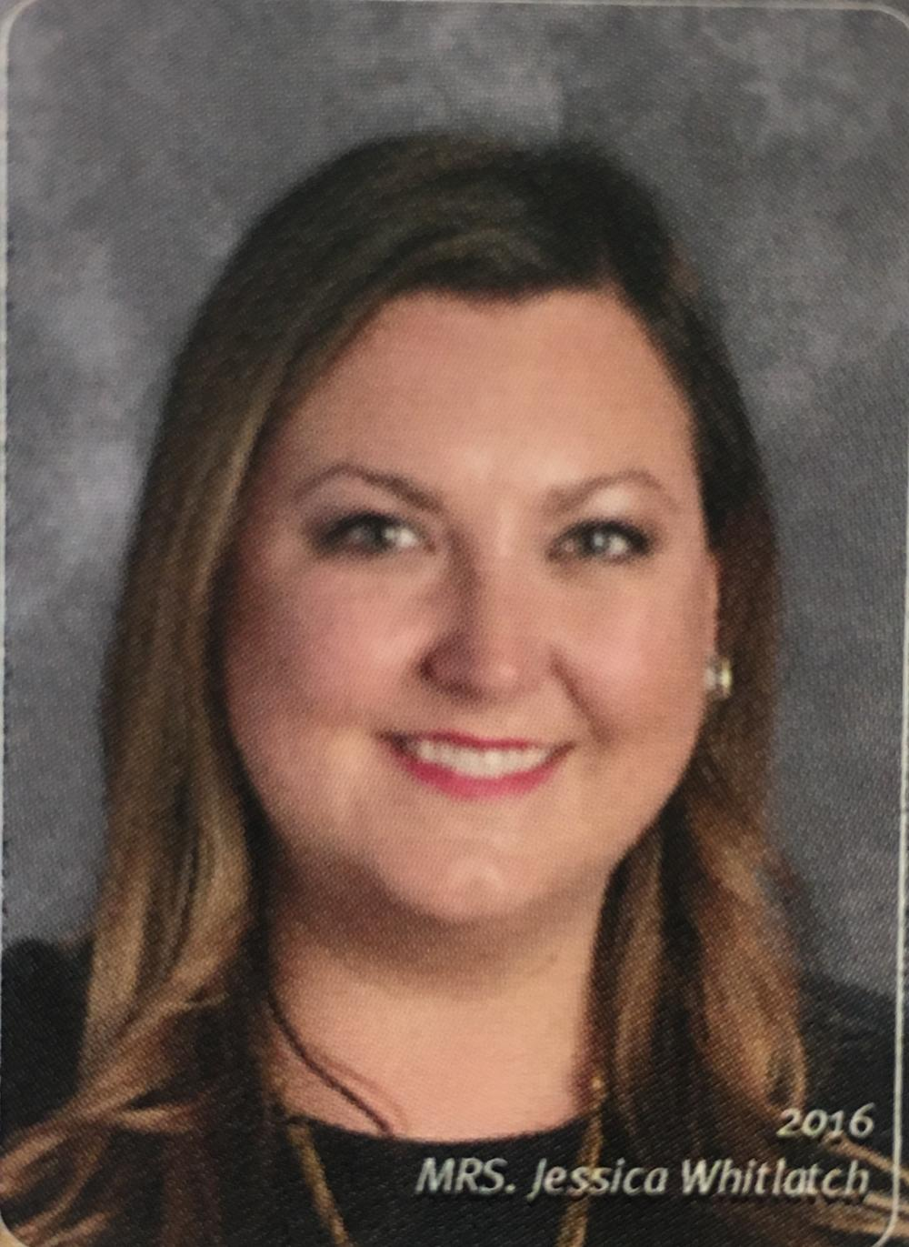 Picture of teacher Jessica Whitlatch.