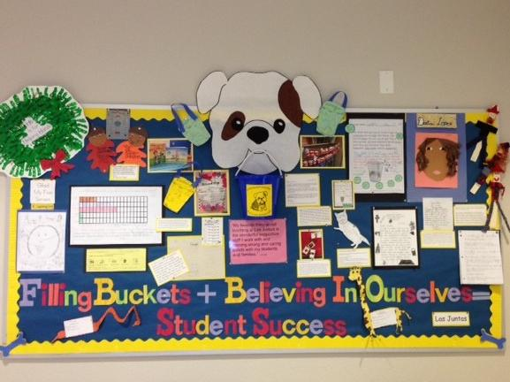 Filling Buckets Bulletin Board