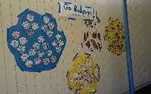 1st Grade Paw Prints for Posters