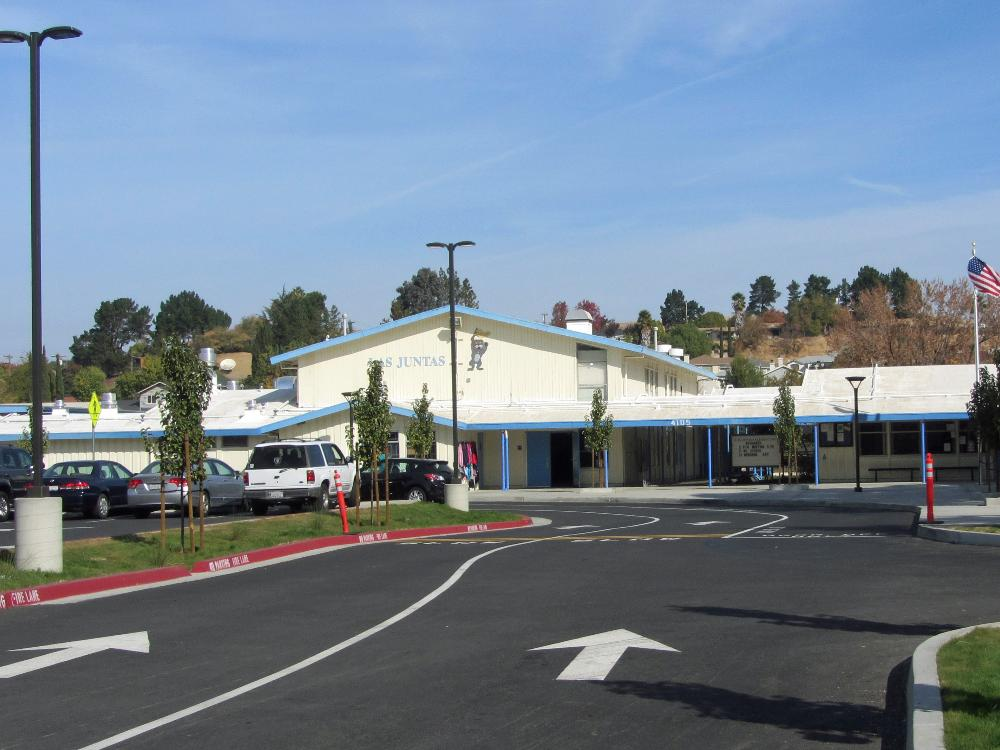 Front of the School after Remodel